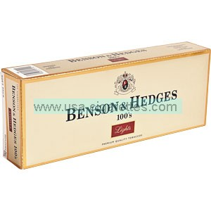 Benson & Hedges 100's Luxury cigarettes