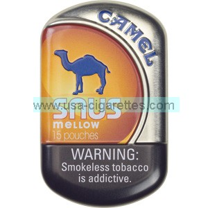 Camel Snus Mellow Smokeless Tobacco