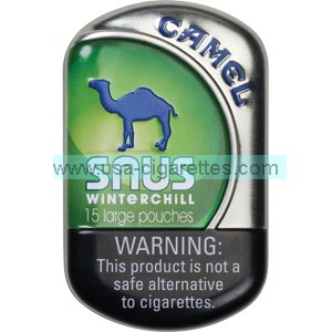 Camel Snus Winterchill Smokeless Tobacco