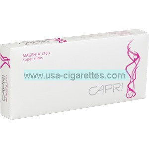 Capri Magenta 120's cigarettes