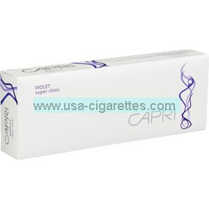 Capri Violet 100's cigarettes