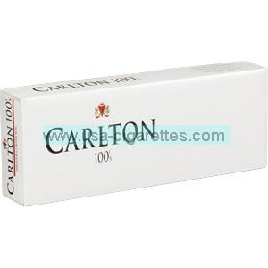 Carlton 100's cigarettes