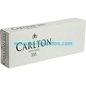 Carlton Menthol 100's cigarettes