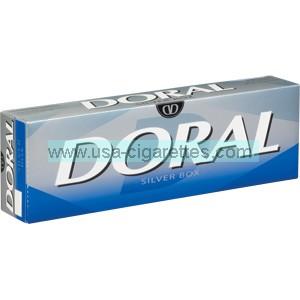 Doral Silver 85 cigarettes
