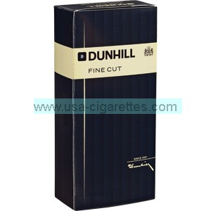 Dunhill Fine Cut Black box cigarettes