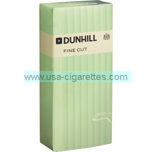 Dunhill Fine Cut Green box cigarettes