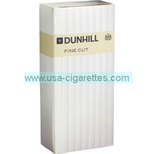 Dunhill Fine Cut White box cigarettes