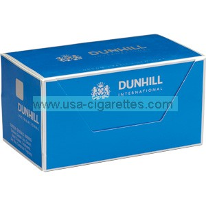 Dunhill International Blue box cigarettes