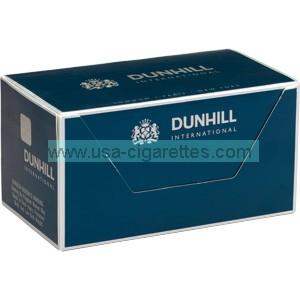 Dunhill Menthol Green box cigarettes