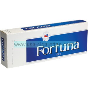 Fortuna Blue 100's cigarettes