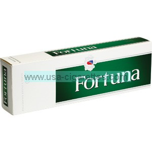 Fortuna Menthol Dark Green Kings cigarettes