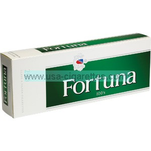 Fortuna Menthol Dark Greene 100's cigarettes