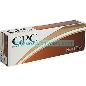 GPC Non-Filter King cigarettes