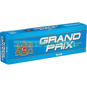 Grand Prix Blue Kings cigarettes