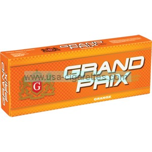 Grand Prix Orange 100's cigarettes