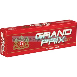 Grand Prix Red Kings cigarettes