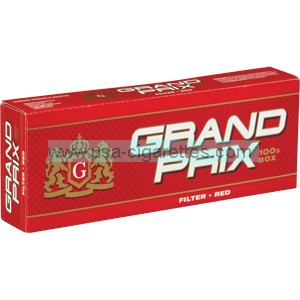 Grand Prix Red 100's cigarettes