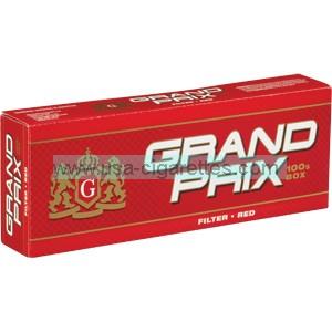 Grand Prix Red 100's cigarettes
