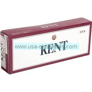 Kent 100's cigarettes