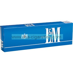 L&M Blue Pack cigarettes