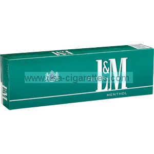 L&M Menthol Kings Cigarettes