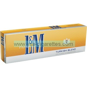L&M Turkish Blend cigarettes