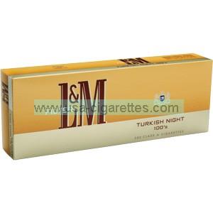 L&M Turkish Night 100's cigarettes