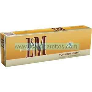 L&M Turkish Night cigarettes