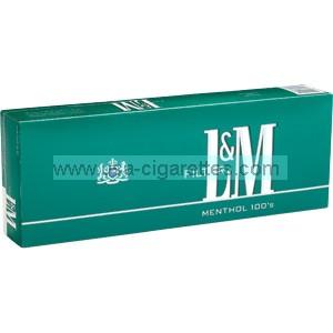 L&M Menthol 100's Cigarettes