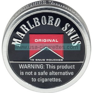 Marlboro Snus Original Smokeless Tobacco