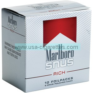 Marlboro Snus Rich Smokeless Tobacco