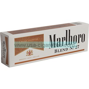 Marlboro Blend No. 27 King box cigarettes