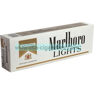 Marlboro Gold Pack box cigarettes