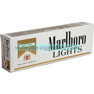 Marlboro Gold Pack soft pack cigarettes