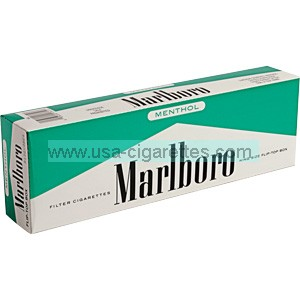 Marlboro Menthol Kings box cigarettes