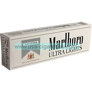 Marlboro Silver Pack box cigarettes