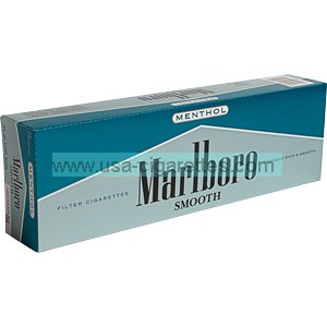 Marlboro Smooth Menthol box cigarettes