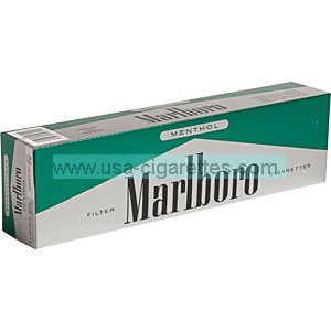 Marlboro 72's Green Pack box cigarettes