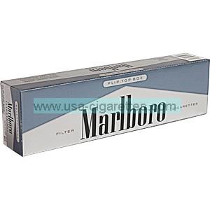 Marlboro 72's Silver Pack box cigarettes