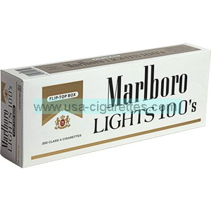 Marlboro Gold Pack 100's box cigarettes