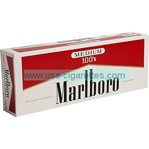 Marlboro Red Label 100's box cigarettes