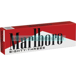Marlboro Eighty-Threes 83's Cigarettes