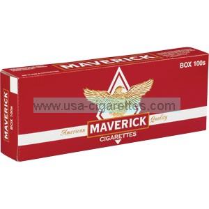 Maverick 100's cigarettes