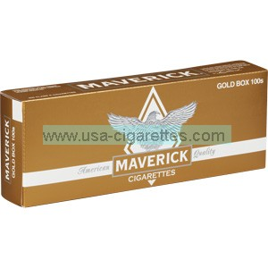 Maverick Gold 100's cigarettes