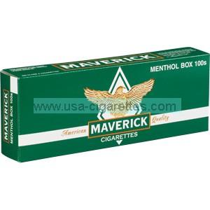Maverick Menthol 100's cigarettes