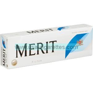 Merit Blue cigarettes