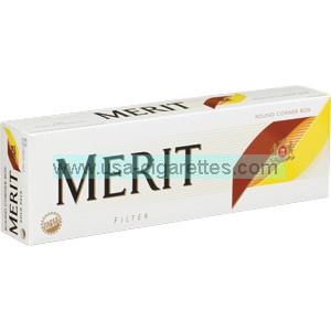 Merit Gold cigarettes