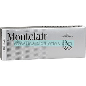Montclair Ultra Silver 100's Cigarettes