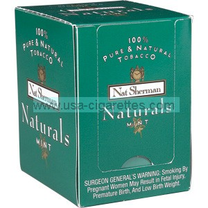 Nat Sherman Naturals Menthol Cigaretello cigarettes