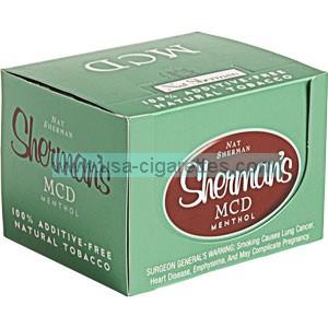 Nat Sherman MCD Menthol Cube cigarettes
